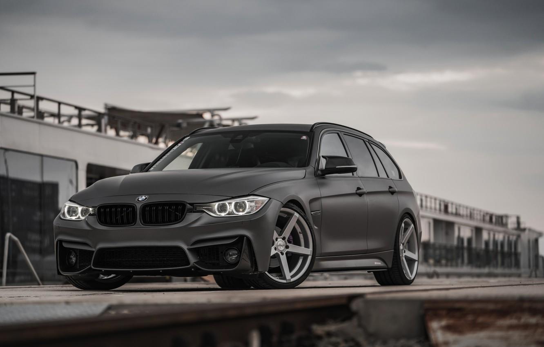 Photo wallpaper overcast, BMW, 2018, 3-series, universal, 320d, the five-door, F31, Z-Performance, 3P