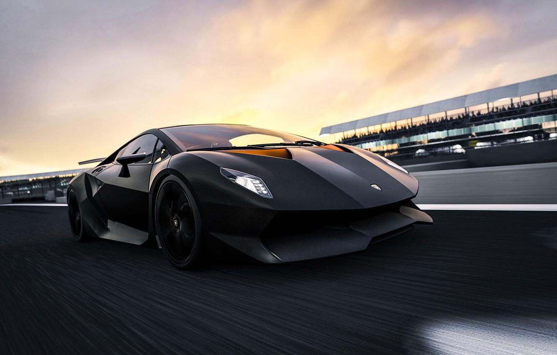 Wallpaper Car Black Aventador Lamborghini Aventador
