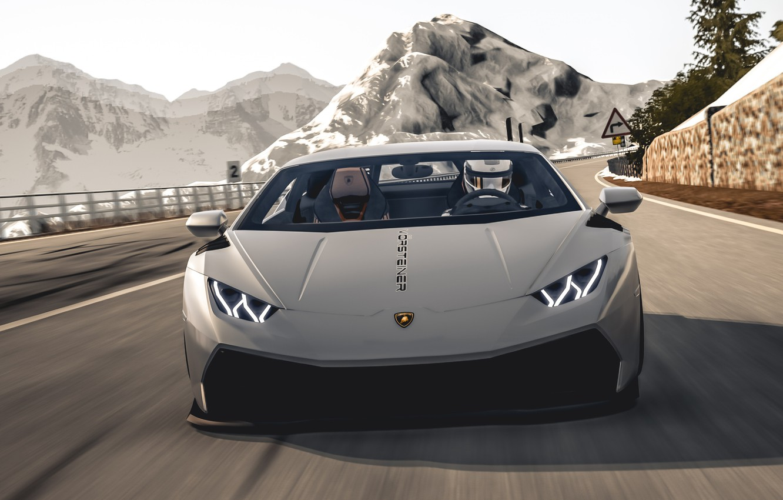 Photo wallpaper Lamborghini, huracan, 2019, Vorsteiner Lamborghini Huracan 2019
