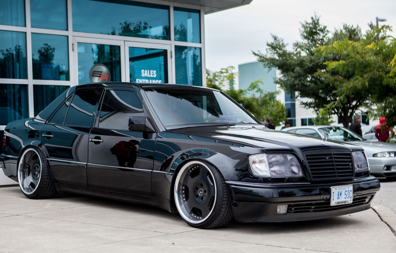 Photo wallpaper e500, Mercedes - Benz, w124