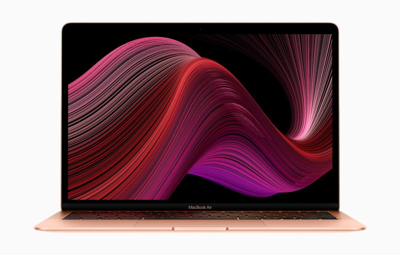 Photo wallpaper Apple, USA, USA, MacBook, MacOS, MacBook Air