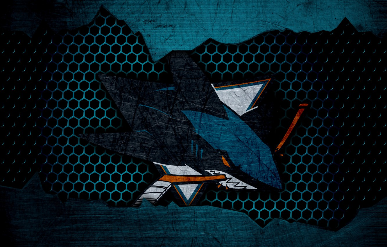 Wallpaper Wallpaper Sport Logo San Jose Sharks Nhl Hockey