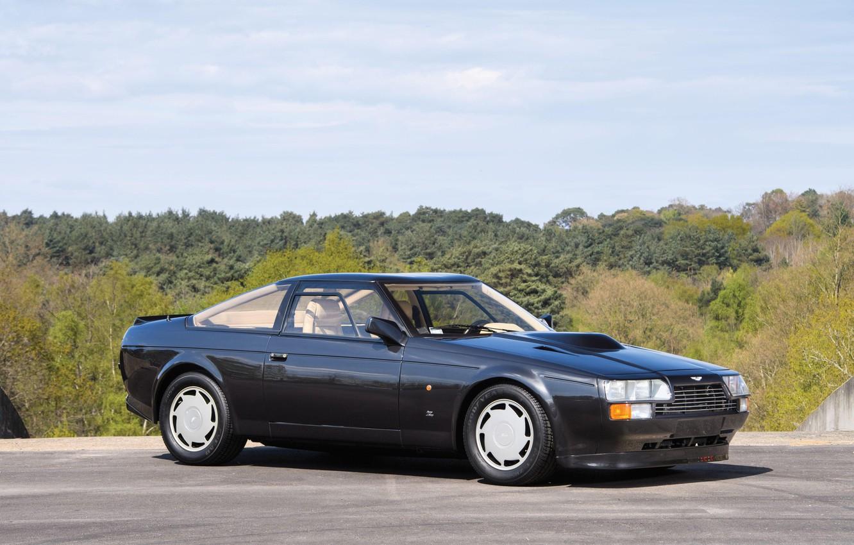 Photo wallpaper Car, Black, Aston Martin V8 Vantage Zagato