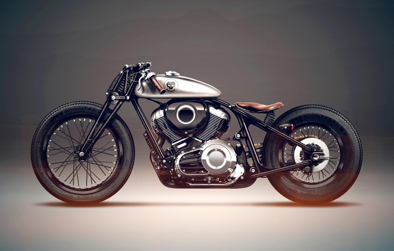 Photo wallpaper Bike, Indian, Motorcycle