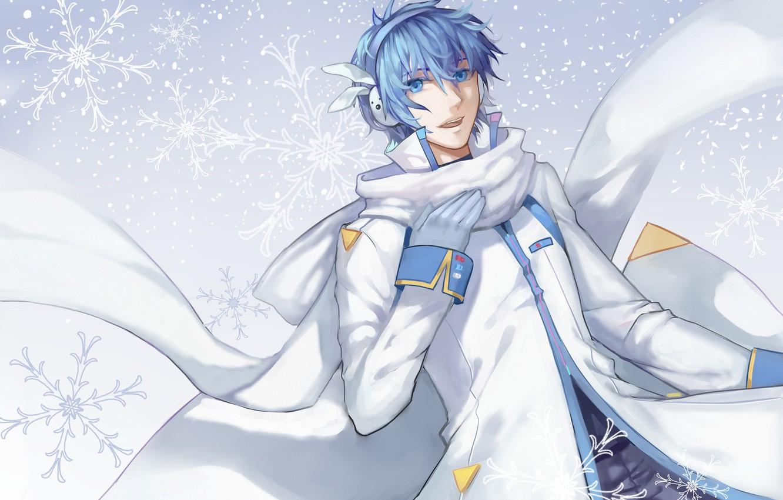 Photo wallpaper guy, Vocaloid, Kaito
