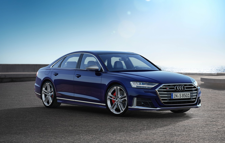Photo wallpaper Audi, Audi S8, Worldwide, 2019