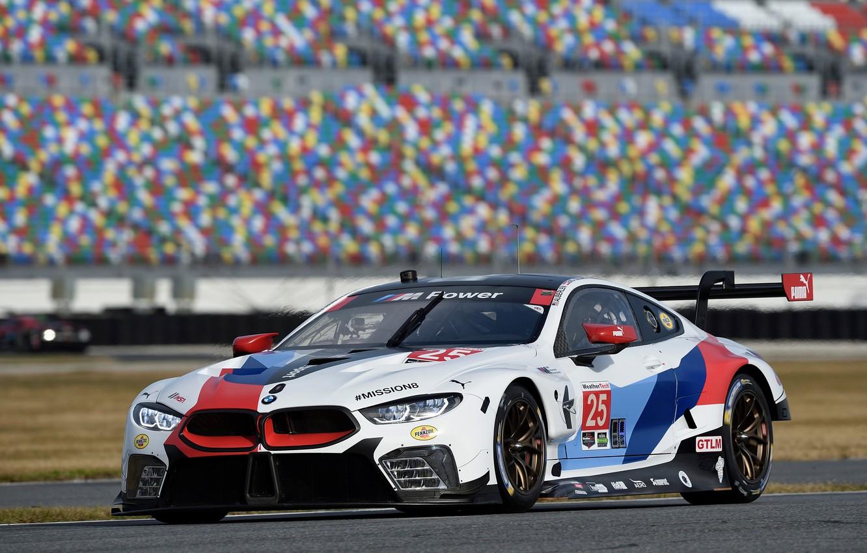 Photo wallpaper racing car, 2018, Motorsport, GTE, BMW M8