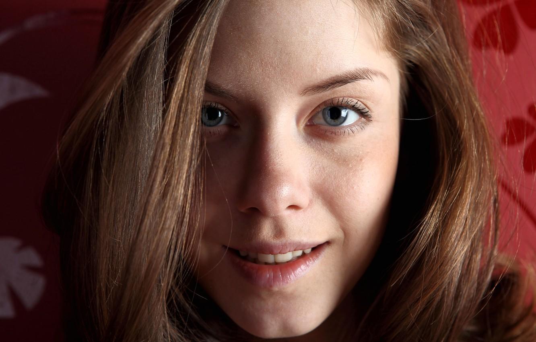 Close up hot teen face — img 7
