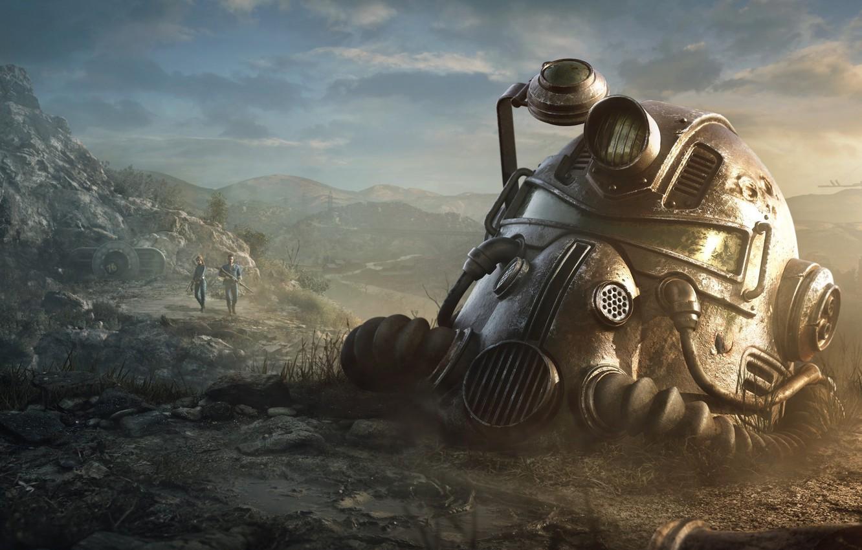 Photo wallpaper Fallout, Bethesda Softworks, Bethesda, Bethesda Game Studios, Fallout 76