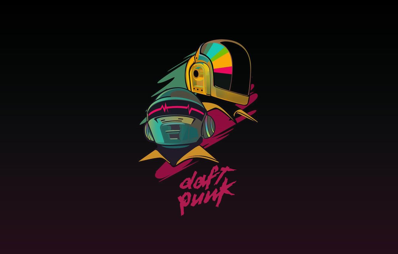 Wallpaper Minimalism, Music, Background, Daft Punk, Thomas ...