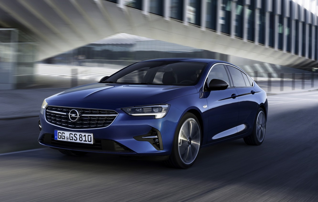 Photo wallpaper Insignia, Opel, sedan, four-door, 2020, Insignia Grand Sport