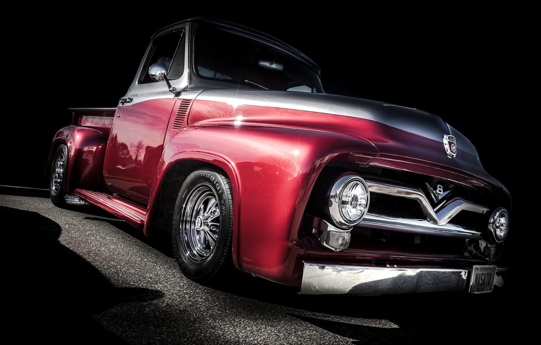 Photo wallpaper auto, design, pickup