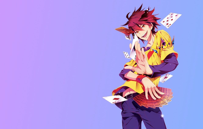 Photo wallpaper background, anime, art, guy, No Game No Life