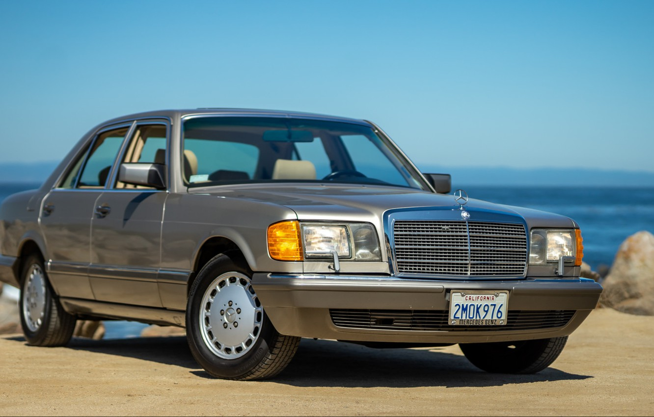 Photo wallpaper w126, Mercedec - Benz, 300se