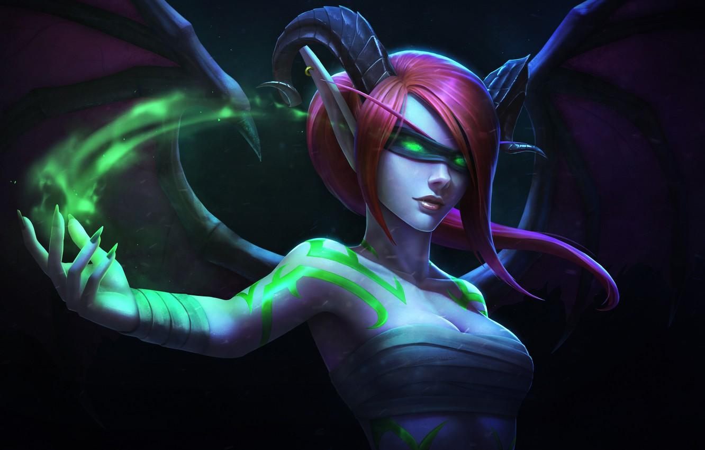 Wallpaper The Game Fantasy Blizzard Elf Art Fiction Warcraft