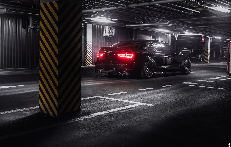Photo wallpaper Auto, Black, Machine, Audi A3, Car, Auto, Black, Quattro, Transport & Vehicles, Alexander Nisman, by …