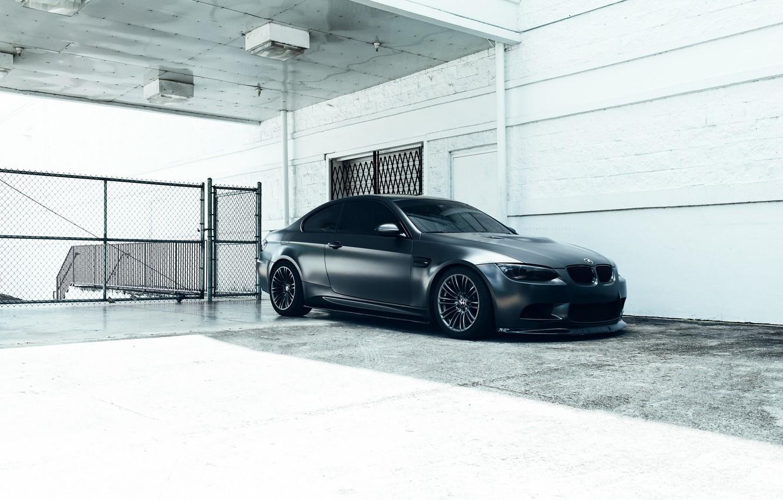 Photo wallpaper BMW, Car, E92, Fast, M3