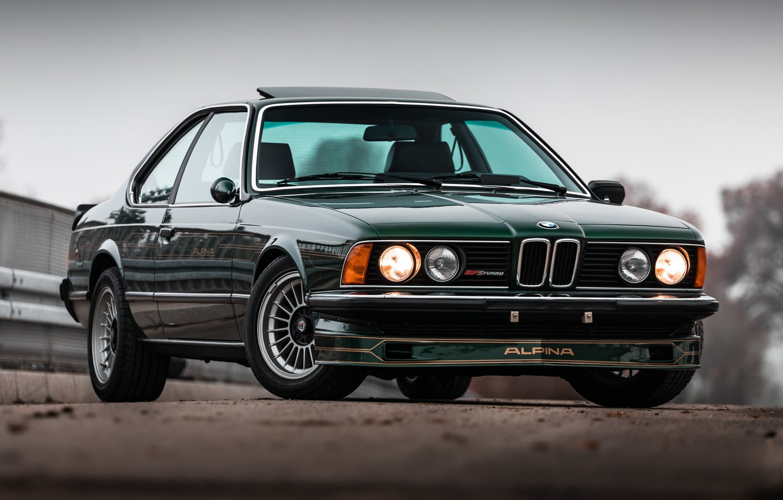 Photo wallpaper BMW, TURBO, E24, ALPINA, B7S