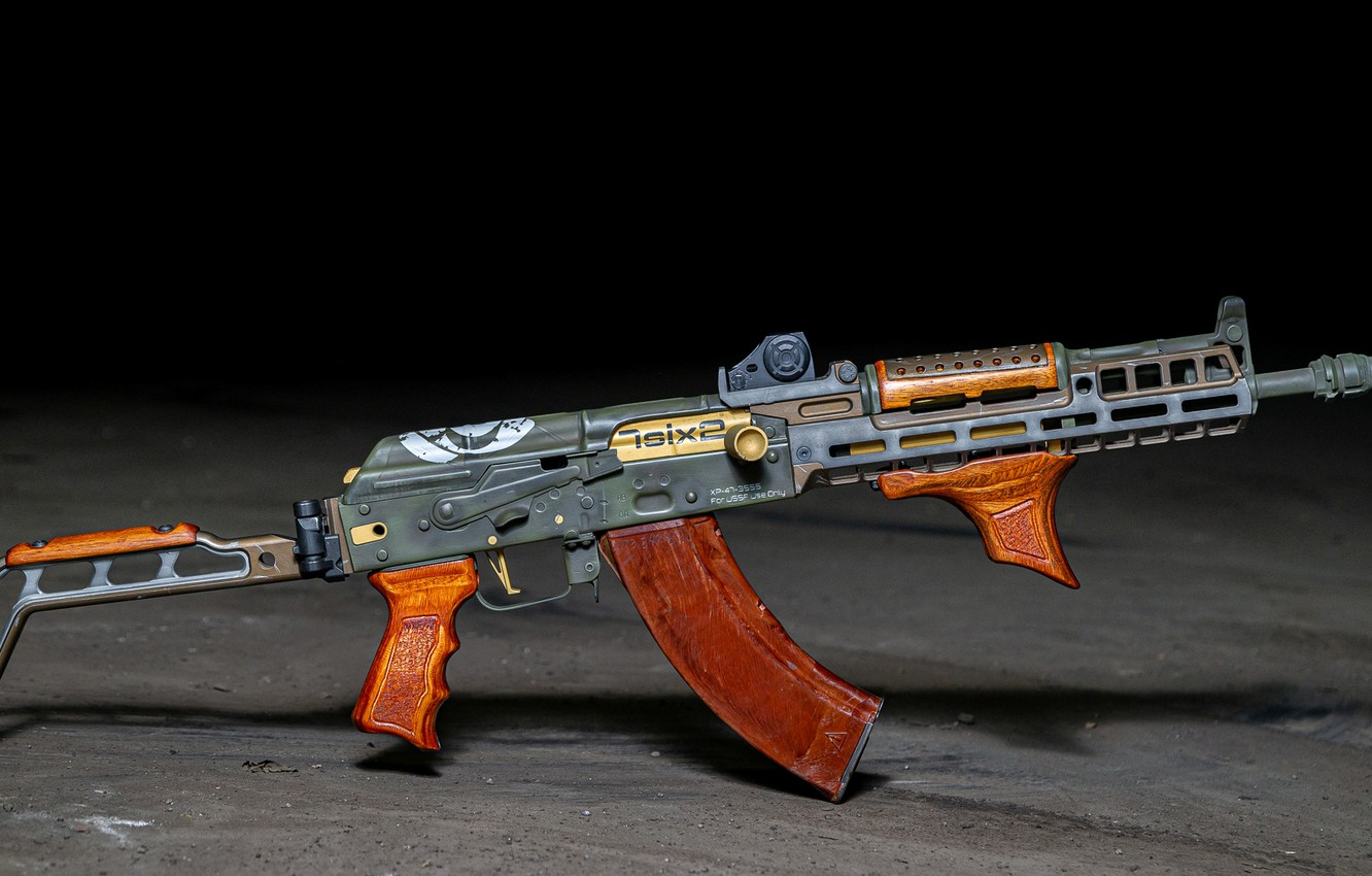 Wallpaper Weapons Gun Weapon Custom Kalashnikov Ak 47