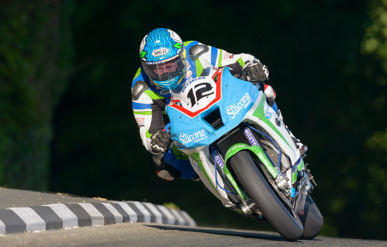 Photo wallpaper Kawasaki, Superbike, Dean Harrison