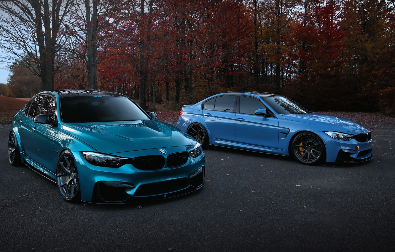 Photo wallpaper BMW, Boomer, BMW, BMW M3, M3