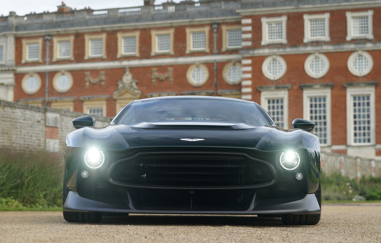 Photo wallpaper light, Aston Martin, lights, coupe, V12, Victor, 2020