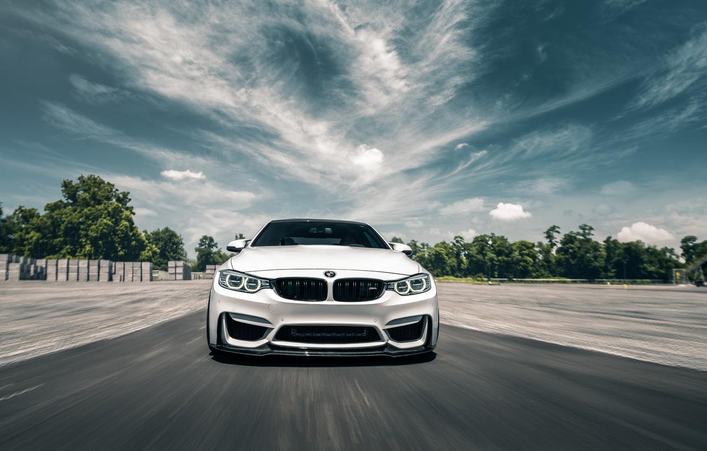 Photo wallpaper BMW, Light, White, F82, Sight, LED