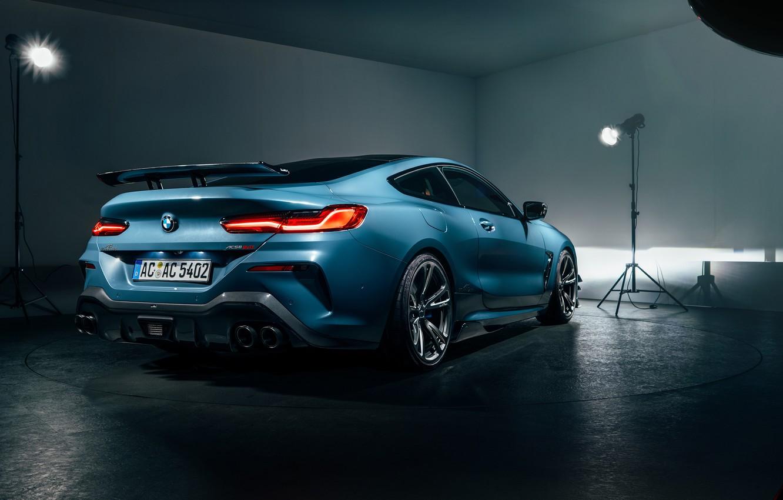 Photo wallpaper BMW, rear view, 2018, AC Schnitzer, ACS8, 8-Series, M850i, XDrive