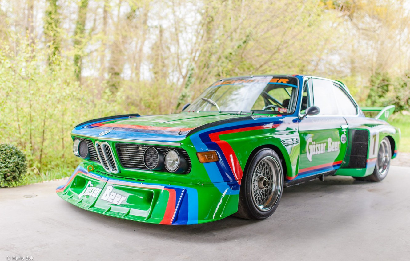 Photo wallpaper BMW, 3.0 CSL, E9