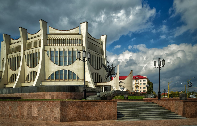 Photo wallpaper Grodno, Belarus, the drama