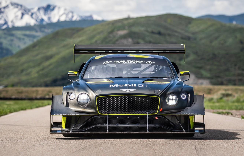 Photo wallpaper Bentley, Continental, GT3, Pikes Peak, 2021