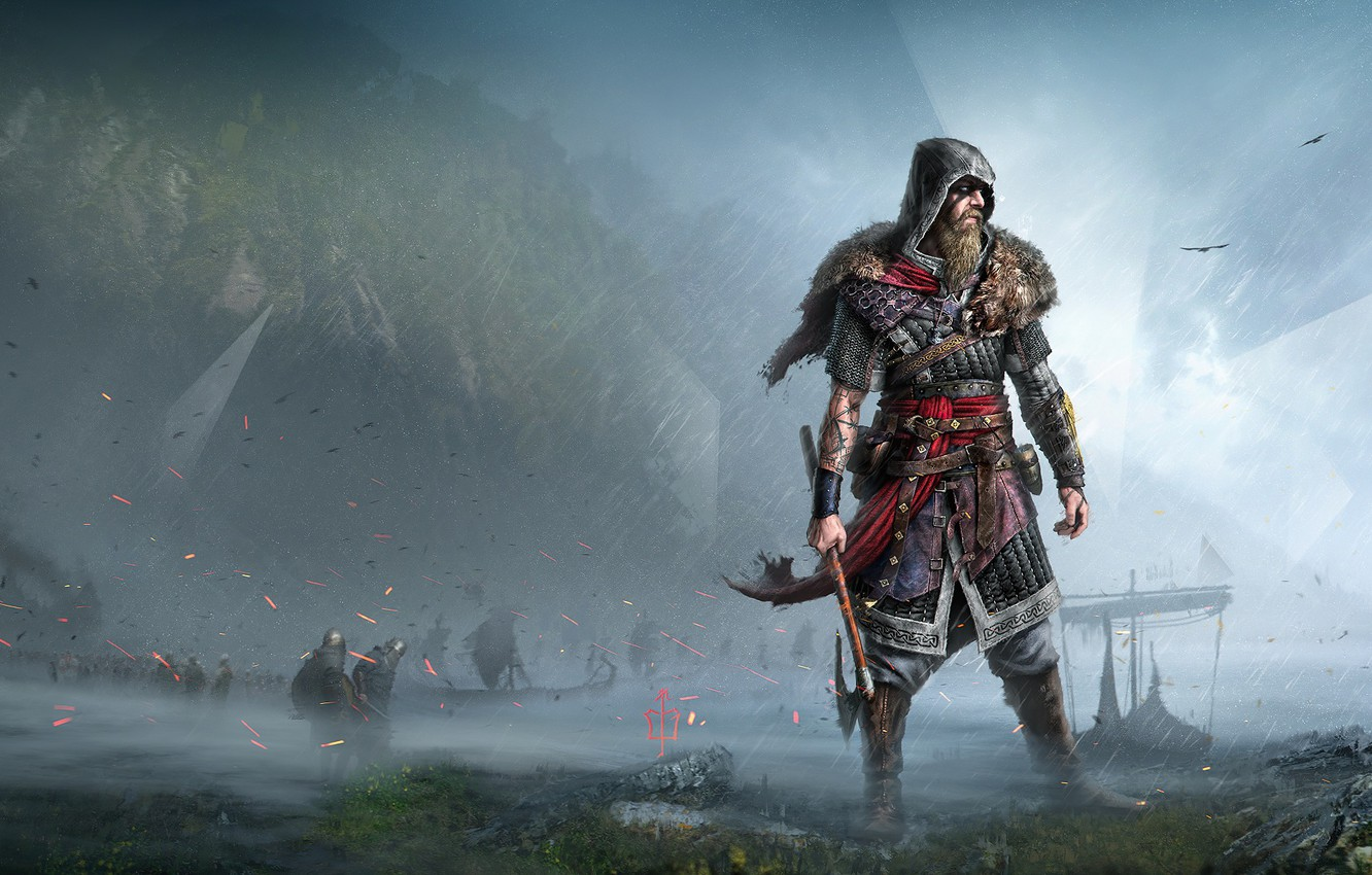 Wallpaper Warrior Assassin S Creed Viking Assassin S Creed Valhalla Images For Desktop Section Igry Download