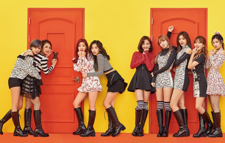Photo wallpaper Music, Kpop, Knock Knock, Twice