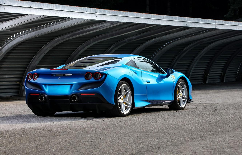 Photo wallpaper Ferrari, supercar, 2019, Tribute, Ferrari F8