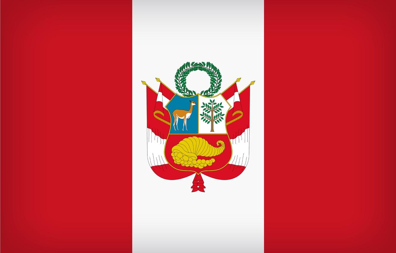 Photo wallpaper Peru, Flag, Peruvian, Peruvian Flag, Flag Of Peru