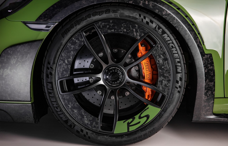 Photo wallpaper wheel, 911, Porsche, Turbo S, TechArt, 2019, GT Street RS