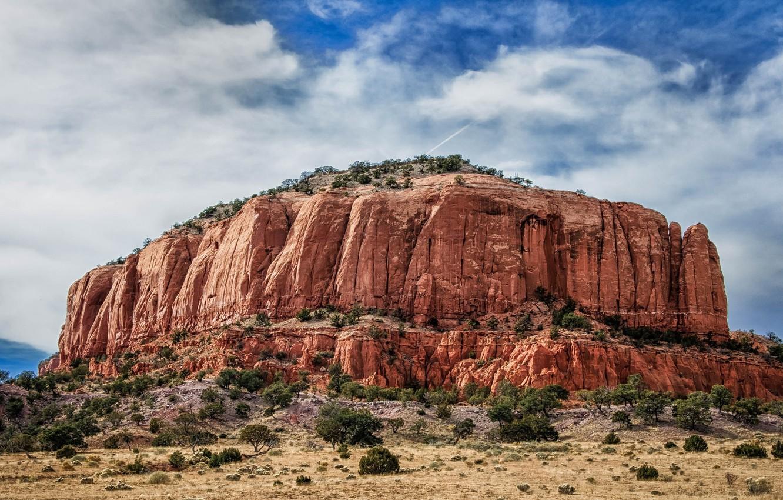 Photo wallpaper landscape, nature, rock, desert, beauty