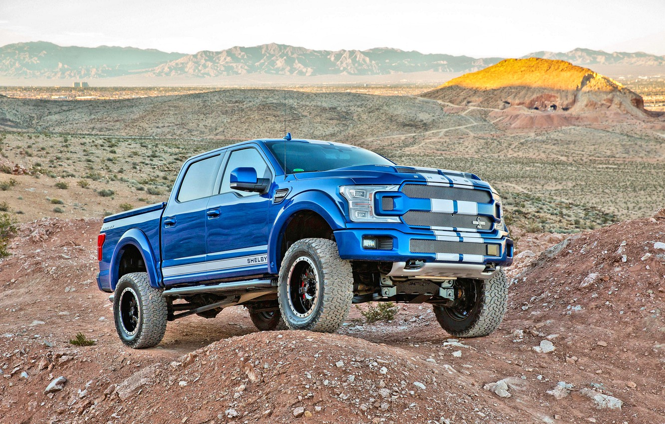 Photo wallpaper Ford, Shelby, 2018, F-150, Shelby F-150 2018