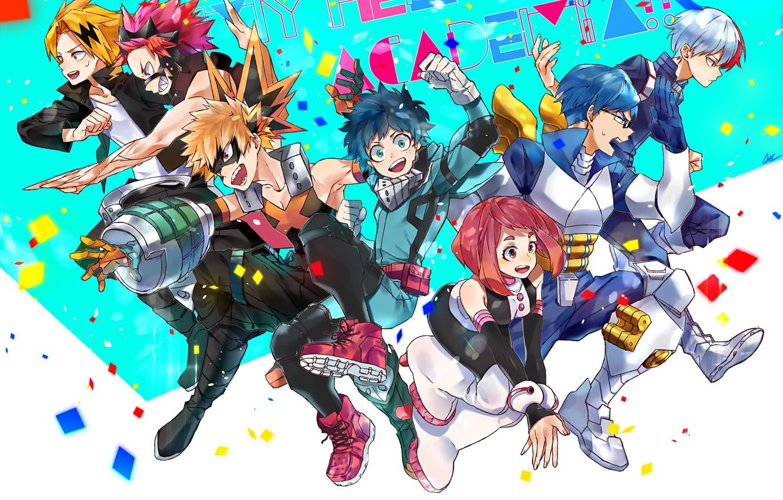 Wallpaper Class Characters Students My Hero Academia Boku No