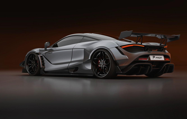 Photo wallpaper McLaren, Prior Design, 2020, 720S, diffuser, widebody kit