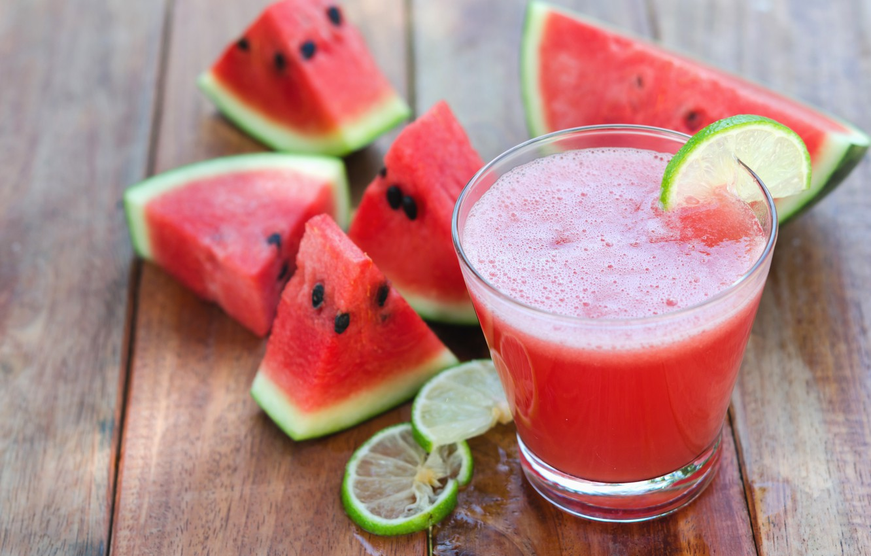 Photo wallpaper watermelon, juice, cocktail, summer, fresh, drink, watermelon, tropical, slice