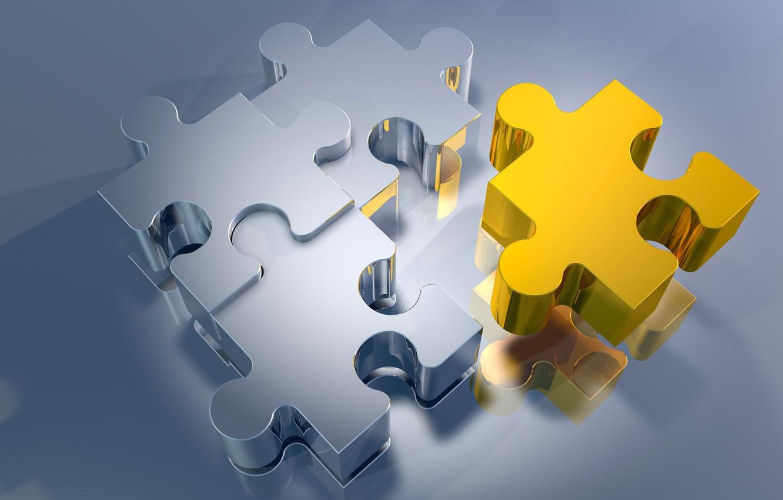 Photo wallpaper puzzles, fragments, puzzle, puzzle