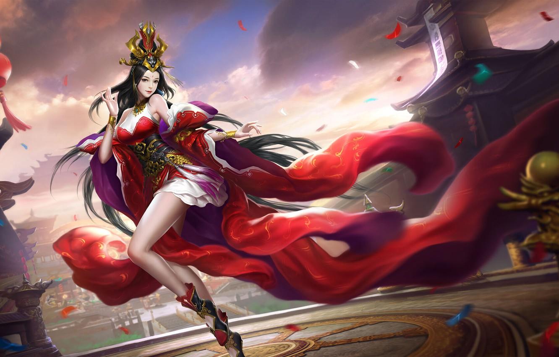 Fantasy Art Asain Girl