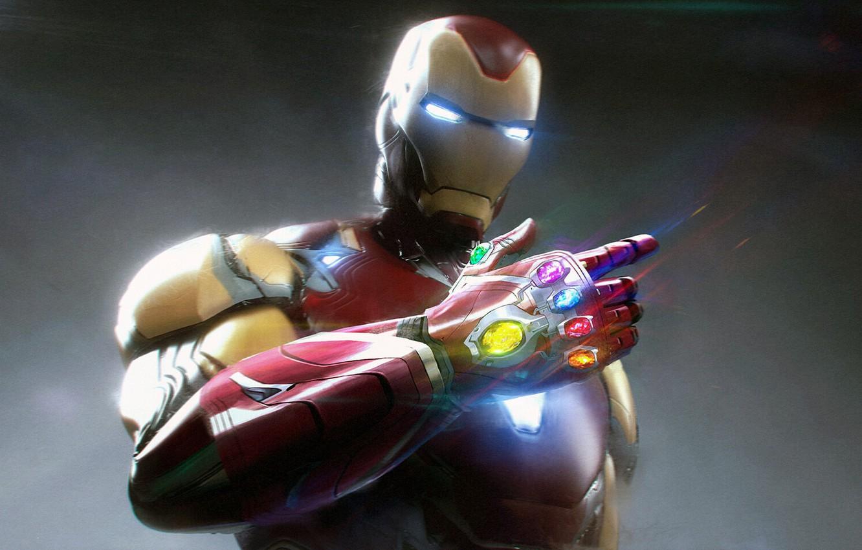 Wallpaper Iron Man Pablo Dominguez The Gauntlet Of Infinity
