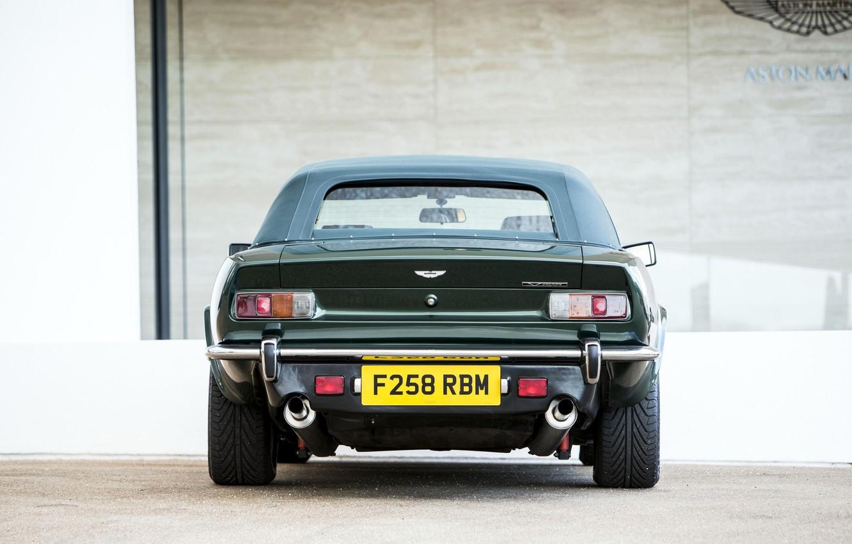 Photo wallpaper Classic, rear view, Aston Martin V8 Vantage Volante, Britanski