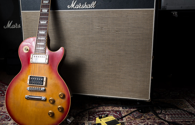Photo wallpaper music, guitar, column, electric guitar