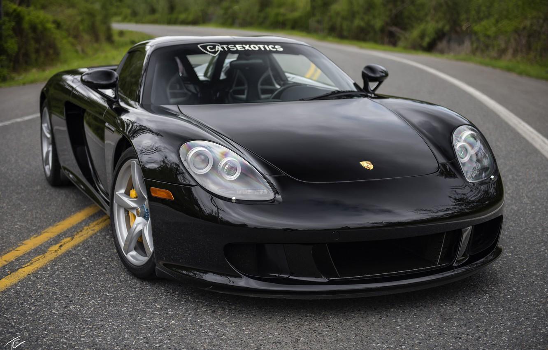 Photo wallpaper Porsche, supercar, Carrera GT