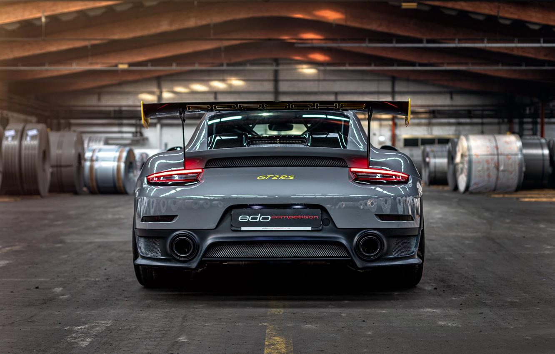 Photo wallpaper 911, Porsche, rear view, GT2 RS, 991, Edo Competition, 2020