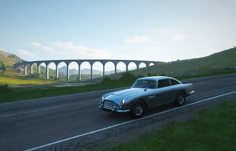 Wallpaper Aston Martin Bond Forza Forza Horizon 4 Aston