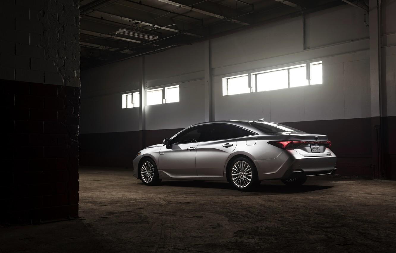 Photo wallpaper light, Windows, Toyota, 2018, Avalon, Limited Hybrid